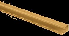 """Планка """"J - trim"""" золотистая Т-15 - 3,00"""