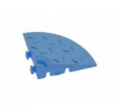Угловой элемент обрамления, цвет Синий